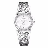 Kreative zivok Frauen Armband Uhr Mode Marke Liebhaber Quarz Handgelenk Uhren Frauen Uhr Relogio Feminino xfcs Reloj Mujer-in Damenuhren aus Uhren bei