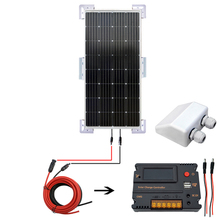 150W Monocrystalline Solar KIT & Mounts & 20A LED Intelligent Controller Power solar energy system solar cell solar panel 150W