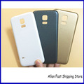 10 шт./лот S5 mini Задняя Крышка, первоначально Новая Батарейного Отсека Корпуса Чехол Для Samsung Galaxy S5 Mini G800 G800F Корпус + Логотип
