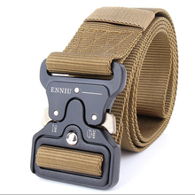 New Arrival SWAT Military Equipment Army Belt Men's Heavy Duty US Soldier Combat Tactical Belts Sturdy 100% Nylon Waistband