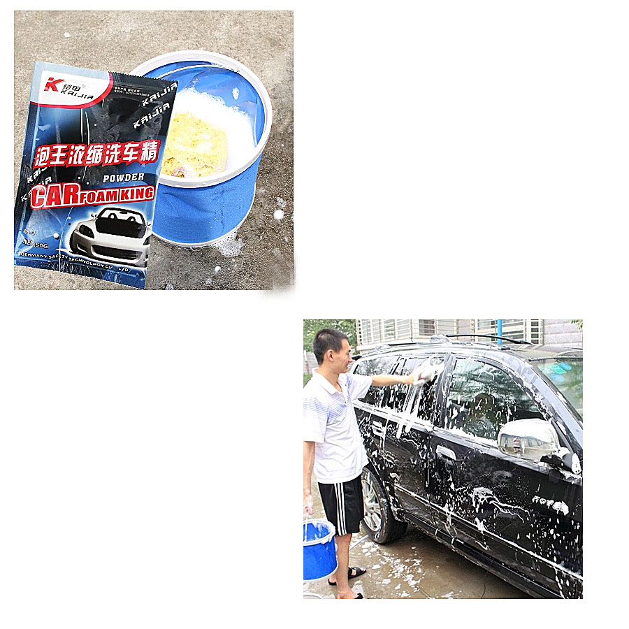 US $3 34 12% OFF 1 piece hyperconcentration car foam wash washing detergent  powder super concentrate car cleaning products auto care cleaner-in Gear