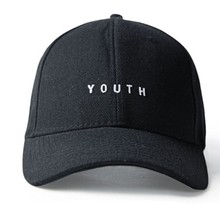Wholesale 2017 New Baseball Cap Adjustable Hip Hop Youth 3color Cotton Women Man Casquette Hat Chapeau