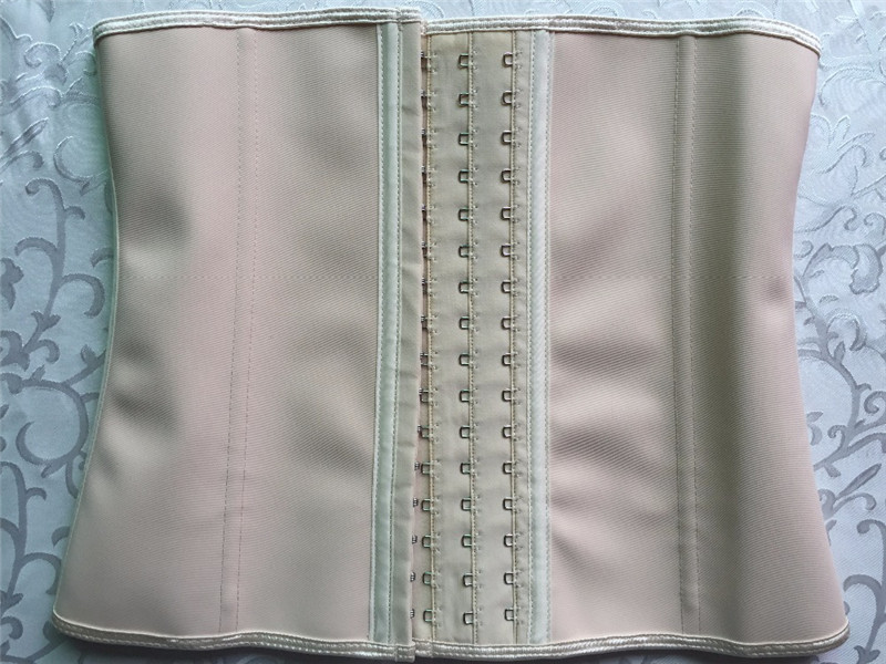25 Steel Bones Posture Corrector Belt with Three Row Buckle Design Made of Pure Natural Rubber Fabric for Female 23