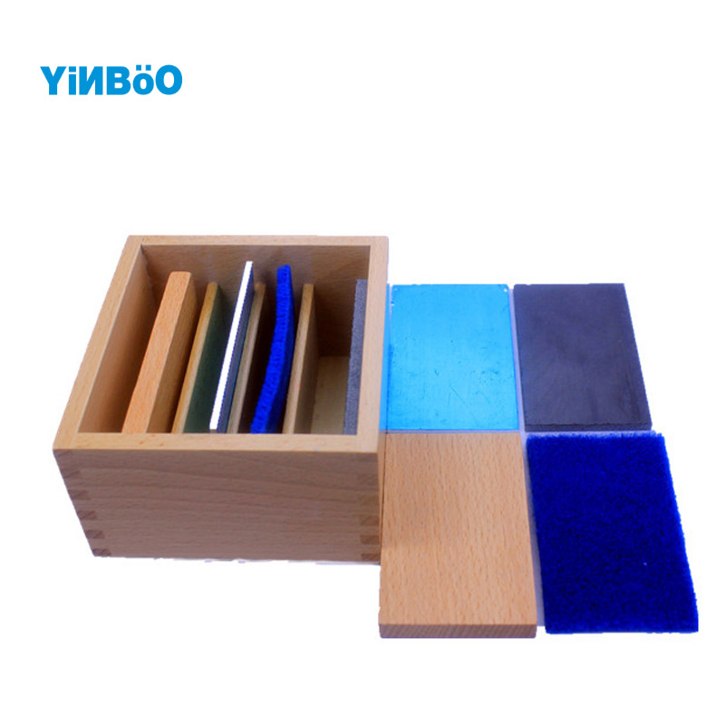 Montessori Educational Wooden font b Toy b font Temperature Measuring Plate for Early Childhood Education Preschool