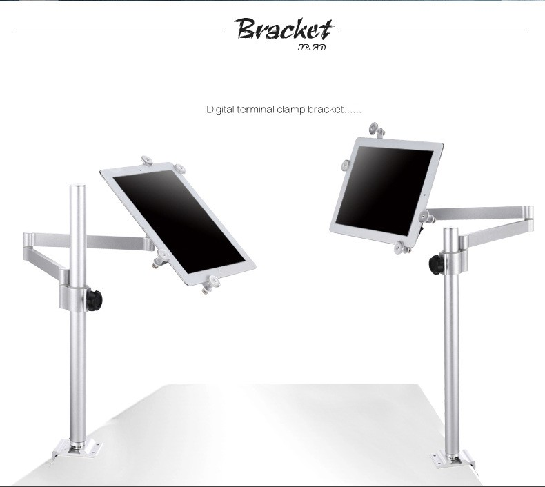 Universal Metal Tablet Holder Bedside Table Side Adjustable Swing Arm Stand  Bracket For 3 11inch Tablet Mobile Phone IPad In Hair Clips U0026 Pins From  Beauty ...