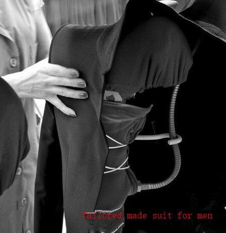 Mesure D'honneur Mode custom Cran Sur De veste Cravate Mince Homme Made Revers Costumes Mariage Of Noir Groomtuxedos Color As Picture Bal Garçons Meilleur Terno Hommes Pantalon 7qnxtBwxYd