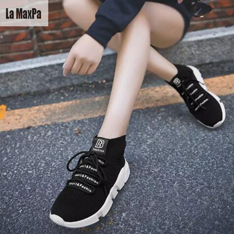 Men Sports Shoes Running Sneakers Summer Breathable Mesh High Top Sports Sneakers Women Outdoor Walking Shose 2018 Spring New