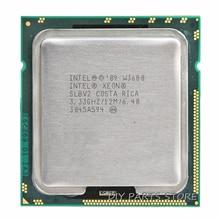 INTEL XONE W3580 Quad core 3.33 МГЦ LeveL2 8 М 4 ядро Turbo Частота 3600 РАБОТА ДЛЯ lga 1366 montherboard