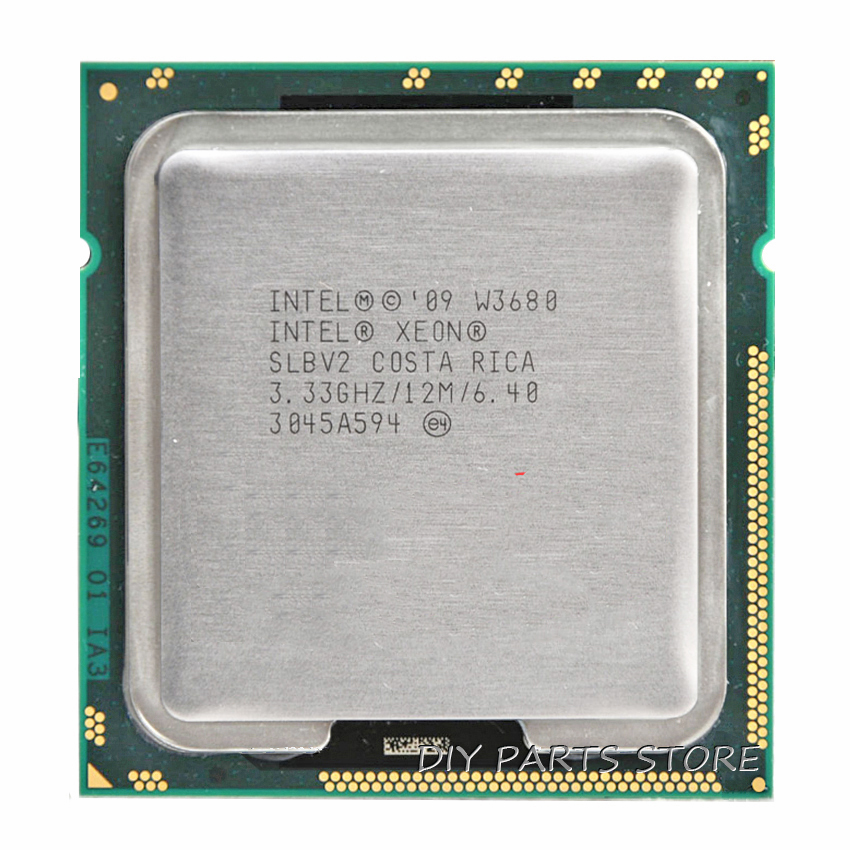 INTEL XONE W3580 Quad core 3.33 MHZ  LeveL2  8M  4 core  Turbo Frequency  3600 WORK  FOR lga 1366 montherboard taylor n watts m turbo racing team level 2 cd
