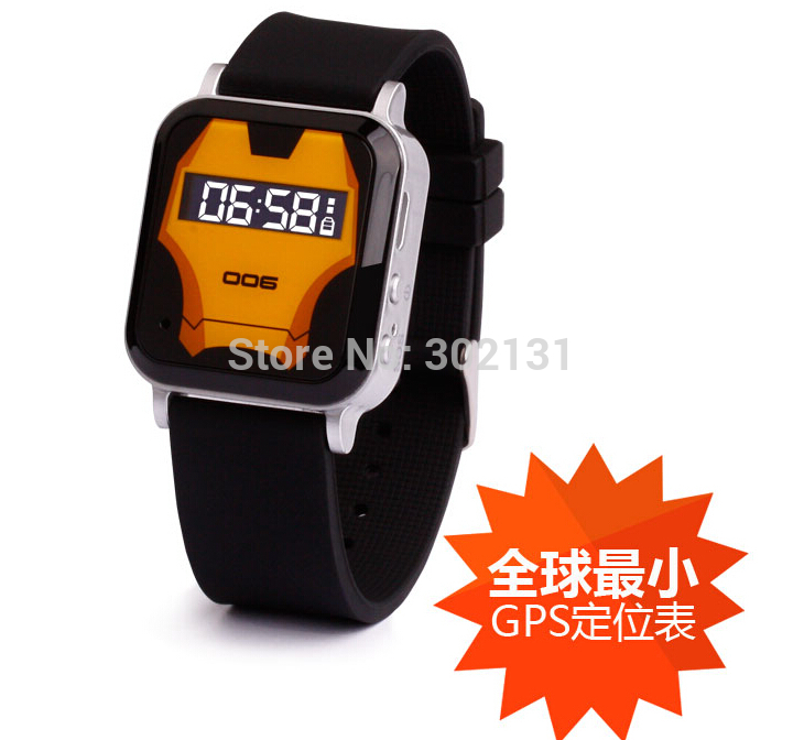 ФОТО Free shipping Brand new cute mini watch with sos panic button wrist watch personal gps tracker