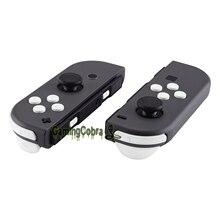 Мягкий сенсорный белый сменный ключ направления ABXY SR SL L R ZR ZL триггер полный набор кнопок w/инструменты для nintendo Switch Joy-Con