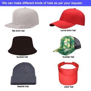 Image 5 - Zefit benutzerdefinierte kappe snap strap auf back headwear flache krempe custom design 3D logo kleine auftrag freies verschiffen kunden baseball hut