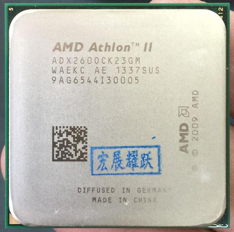 AMD Athlon II X2 260  X260  Dual-Core Desktop CPU AM3 938 CPU 100% Working Properly Desktop Processor