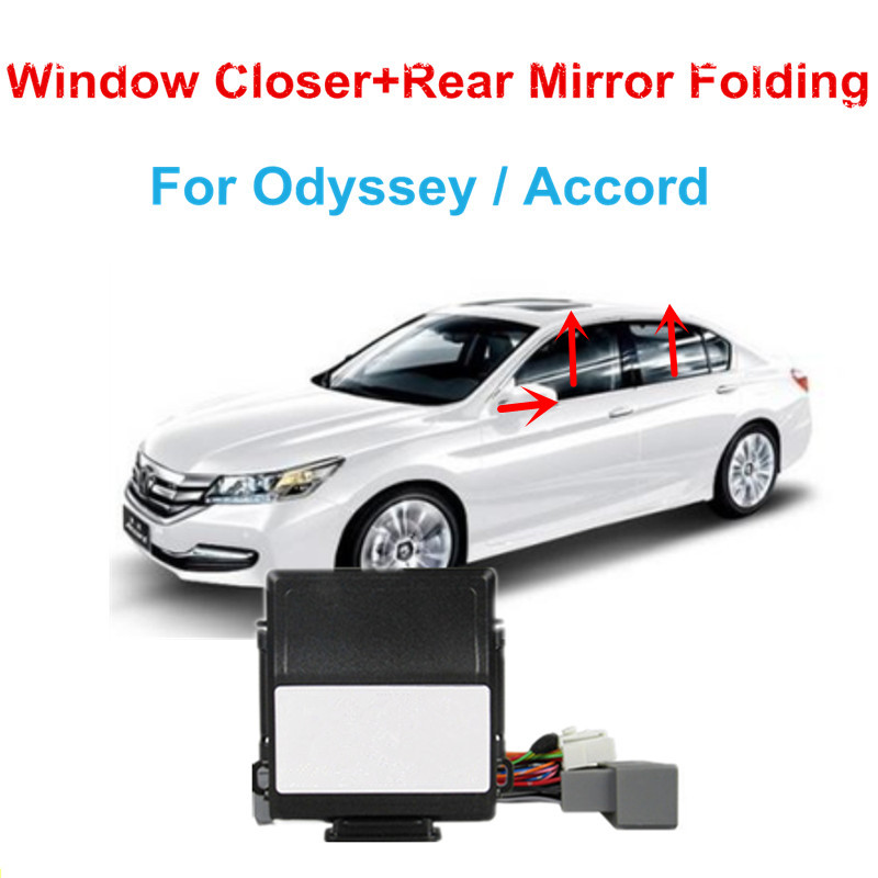 Car Power Window Closer Car Rear Mirror Folding Kit For Accord/Odyssey Window Closer Car Alarm Systems Window Closer Lifter
