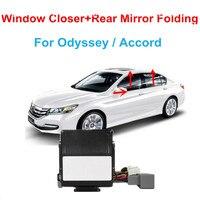 Car Power Window Closer Car Rear Mirror Folding kit For Accord/Odyssey Window Closer Car Alarm Systems Window Closer lifter