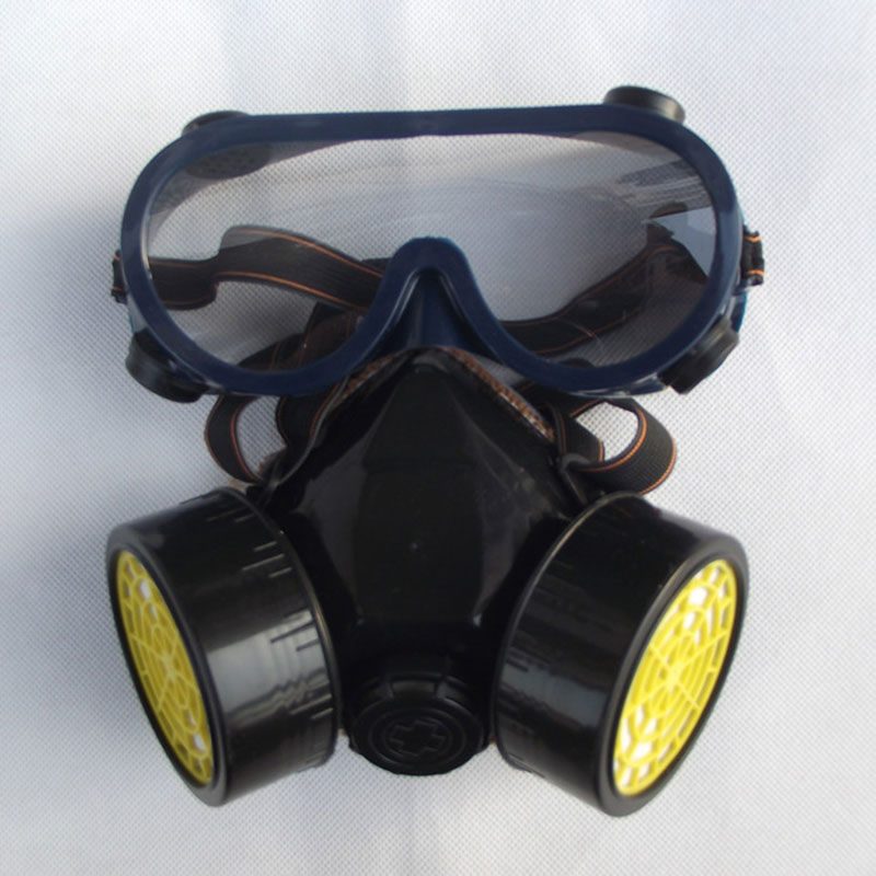 Respirator mask protective mask Activated carbon anti dust poison pesticide spray painting formaldehyde deodorant breathable image