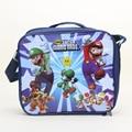 Super Mario Bros Mario Lunch bag Lunch Box nylon handbag Boy shoulder bag 24*20*7cm figure toys