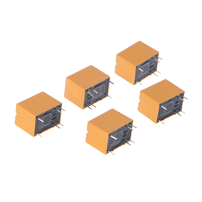 цена на 5 Pcs 3V Relay HK4100F-DC3V-SHG 6 Pins 3A 250V AC 30V DC R06 Drop ship