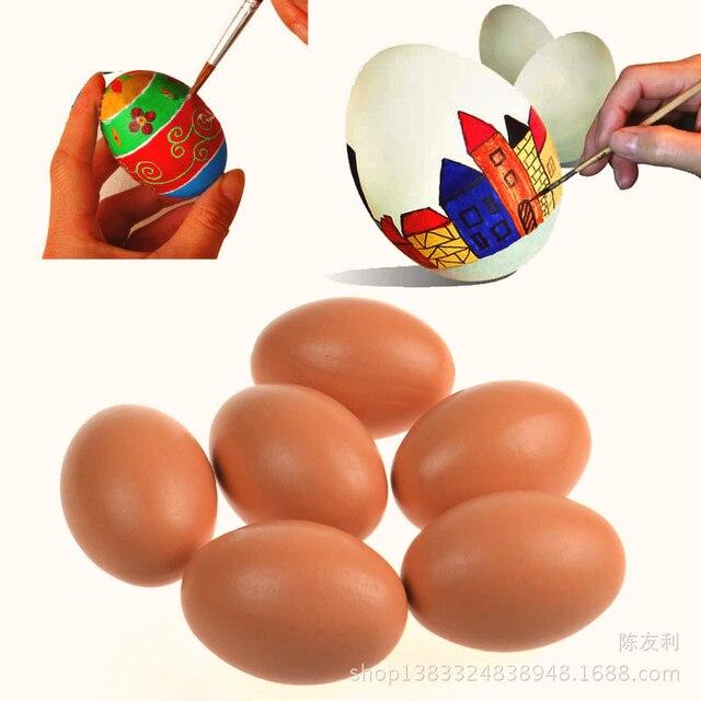 DIY malerei Ostern eier Kinder spielzeug holz DIY kreative ...
