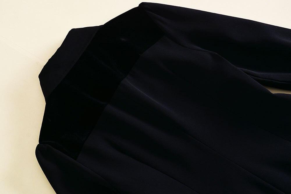 Tournent Printemps 2018 Manches Noire Luxious Longues Shown Festa Une De Volants Le Femmes Bas Vers 121207 Piste À Ligne Robes Robe As Dentelle 00qrwS