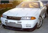 Auto Zubehör Carbon Faser TBO Style Front Lip Fit Für 1989-1994 Skyline R32 GTR Frontschürze Nieder Splitter lip