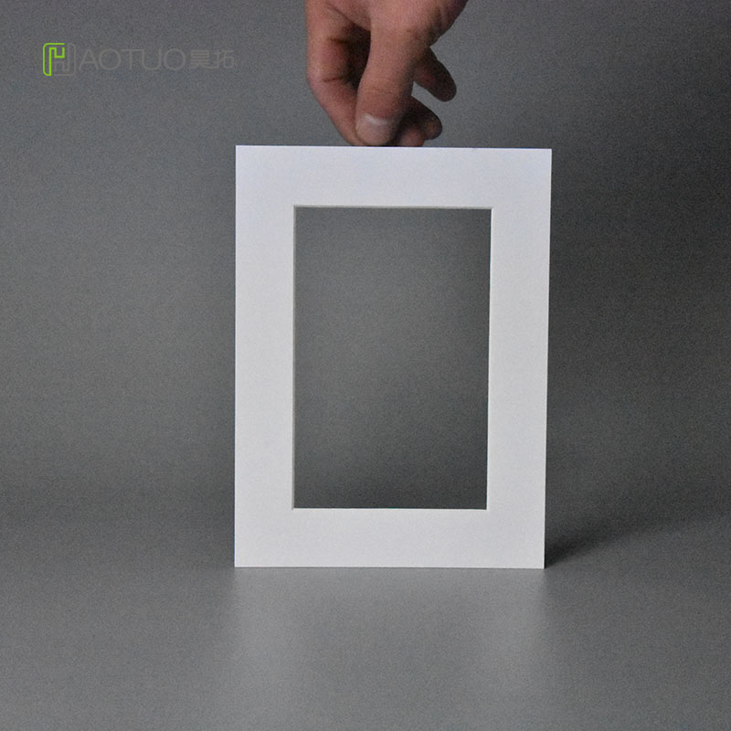Acid Free White Cardboard Bevel Cut Mounting Photo Frame 4X6 Pictures Wedding Party Decoration Picture Fame Home Decor Fotolijst