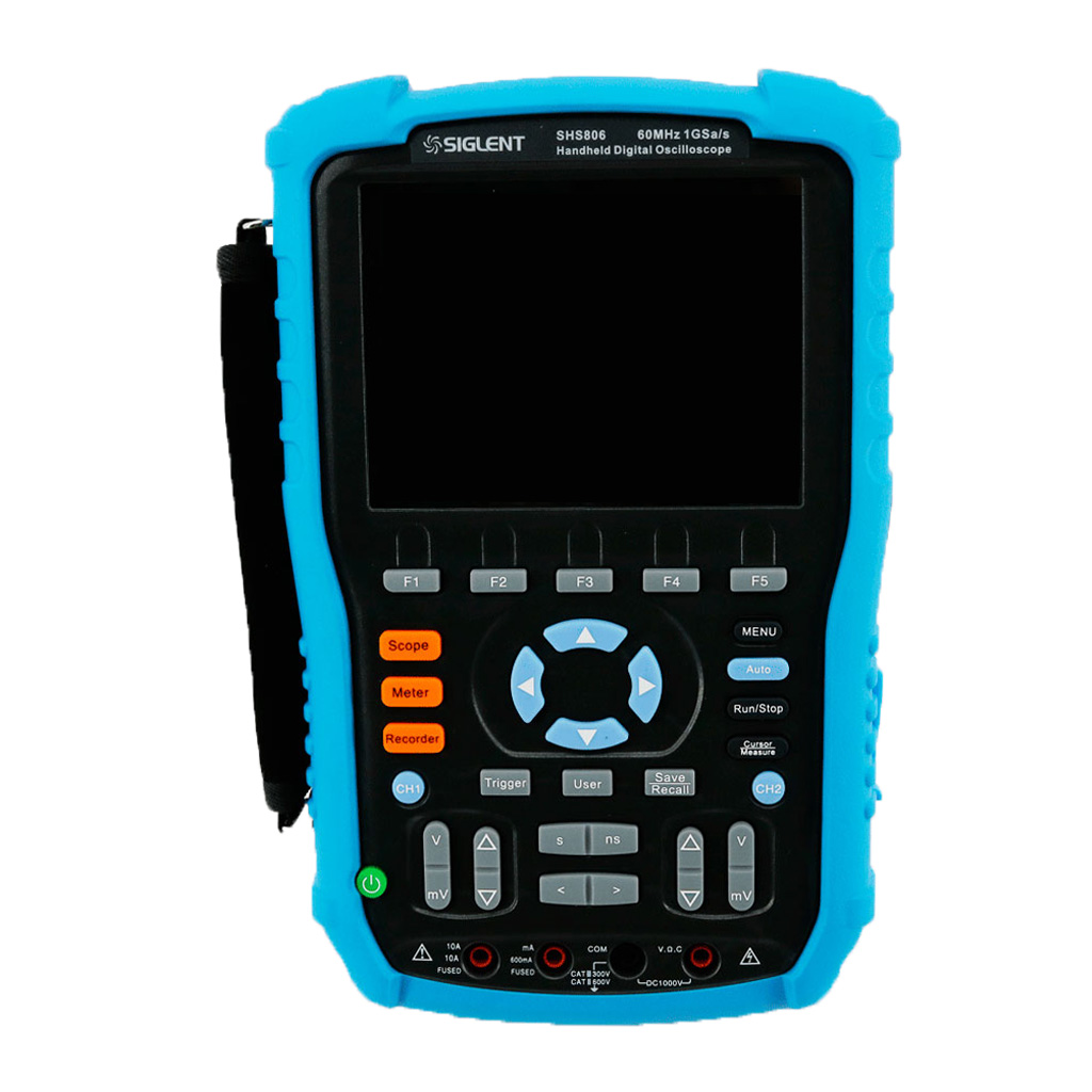 Siglent SHS806 60MHz SH810 100MHz 1GSa/s 50GSa/s Handheld Digital Oscilloscope Osciloscopio DSO 2Mpts Memory Depth Multimeter updated from dso 1060 hantek dso1062b handheld oscilloscope 2 channels 60mhz 1gsa s sample rate 1m memory depth 6000 counts dmm