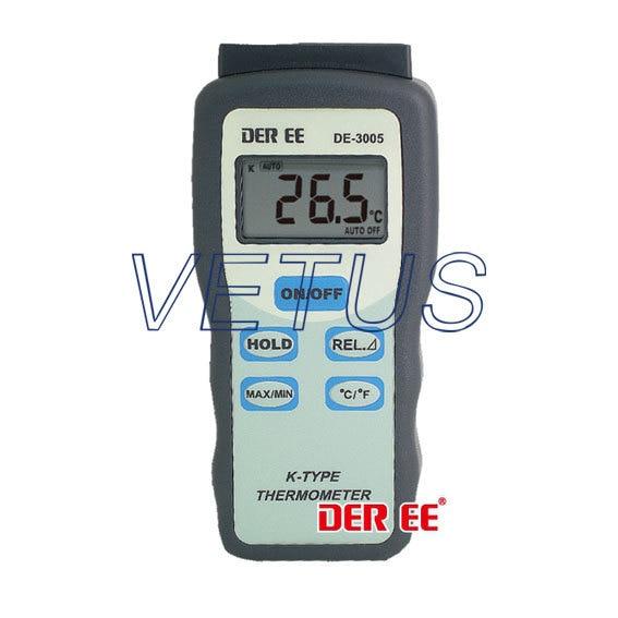 DE-3005 K-TYPE Digital Thermometer price philippe de cheron elisa 3005 1211n
