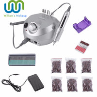 30000Rpm Electric Manicure Sander Drill Grinding Machine Professional Tools Pen Set Kit Nail Art Sanding Polishing