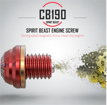 SPIRIT BEAST CB190 Oil Screw Switch Aluminum Alloy Engine Maintenance Magnetic Cover  Motorcycle Parts