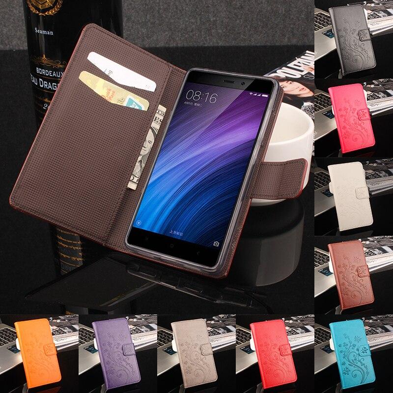 para Xiaomi Redmi 4 Pro Funda con billetera Funda con tapa de lujo - Accesorios y repuestos para celulares - foto 1