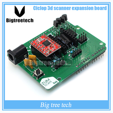 3D Scanner Board Ciclop expansion board BQ ZUM driver board DIY with A4988 Accessories for 3D printer accessory