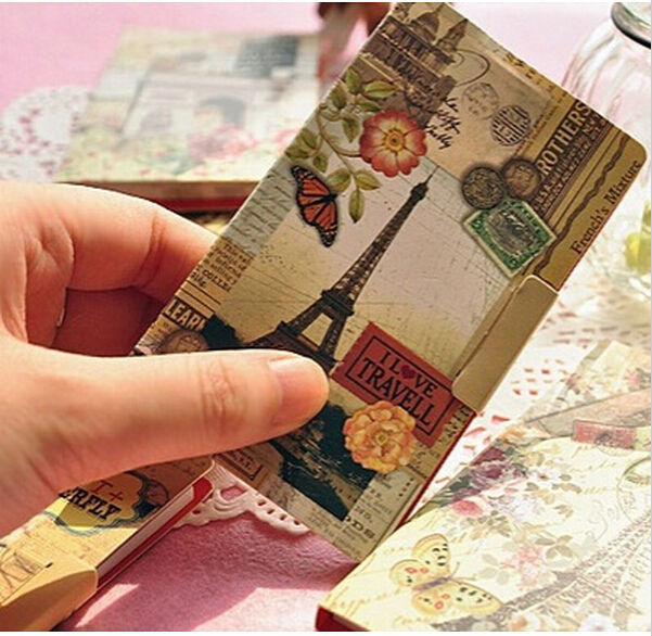 New Vintage Tower Scenery series sticky notepad/Memo/message post marker /label
