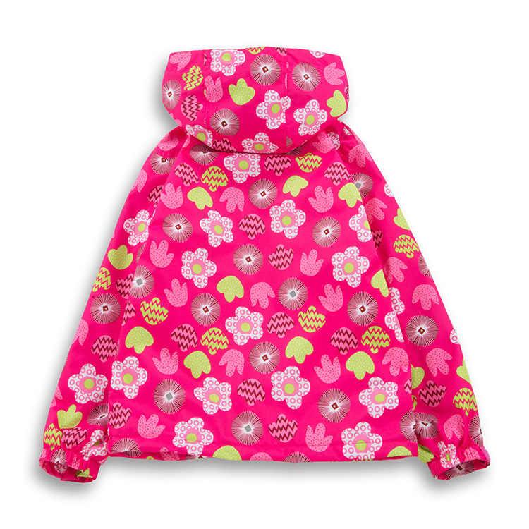 חדש 2019 אביב סתיו ילדי ילדי מעילי תינוק בנות windproof עמיד למים מעילי מעילי בנות פעמיים סיפון פליס מעיל