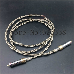Image 1 - High Quality Audio Digital cable Silver Plated hifi digital 1M cable for hifi cable