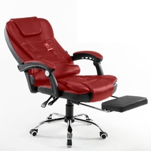 PI#3046 Kalway computer home office lay boss leather massage chair for shipping