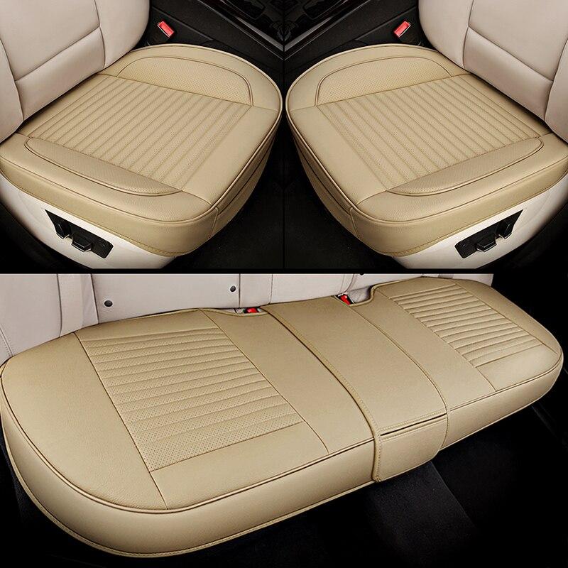 Universelle housse de siège de voiture en cuir de style de voiture pour BMW e30 e34 e36 e39 e46 e60 e90 f10 f30 x3 x5 x6 X1 530i 2010-2004 style de voiture