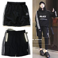 2017 PALACE Skateboards Jogger 100% Cotton Shorts 3M Reflective Sweatpants Men Women Kanye West Beach Shorts Casual Hip Hop Male