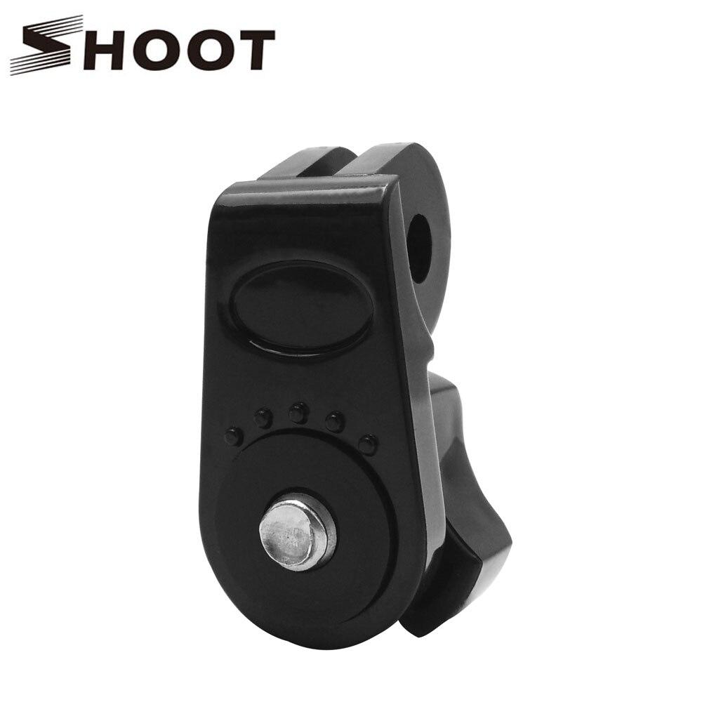 SHOOT 1/4 Inch Bridge Tripod Adapter Mount For GoPro Hero 7 6 5 4 Session Sony Xiaomi Yi 4K Lite SJCAM SJ7 SJ6 Go Pro Accessory
