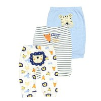 3 PCS LOT Baby Boy Girl Pants Spring Autumn Lovely Cotton Infant Casual Pants Newborn Pants