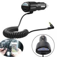 Hifi Беспроводной Bluetooth стерео аудио Музыка Mp3 плеер w/3,5 мм AUX Весна кабель Шнур Handsfree USB автомобилей переходник для зарядного устройства