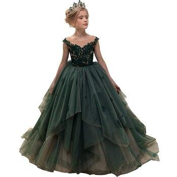 e6e372c6308 Нарядное платье для маленьких девочек  robe de princesse pour petite fille  вечерние пышные Детские платья для девочек детские красивые нарядные платья