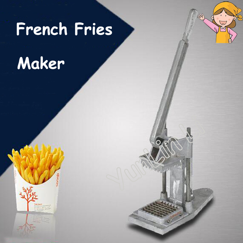 Manual French Fries Cutting Machine Potatoes Cutter Radish Cucumber Taro Machine with Instruction FY-P01 vegetable diced cutting strip cut grain machine cucumber potato cutting machine manual radish cutting machine