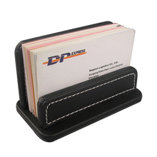 Buy leather file boxes and get free shipping on aliexpress simple pu leather business card box bank cards oragnizer holder business card case holder small file reheart Gallery