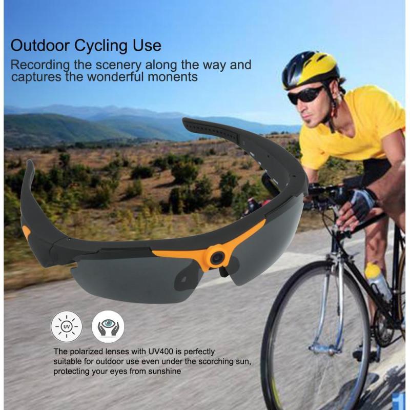 Wide Angle 1080P HD Sunglasses Camera Video Recorder Sport Mini Recorder Sunglasses Camcorder Eyewear Video Recorder Outdoor