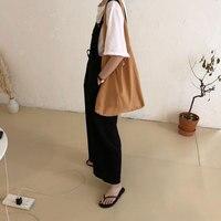Reusable canvas shopping bags big grocery tote bag canvas blank cotton folding tote bags eco handbag wholesale