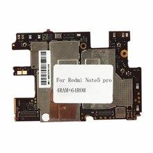 Oudini odblokowany oryginalna płyta główna dla xiaomi A1 płyta dual simcard 4G RAM 64 GB ROM