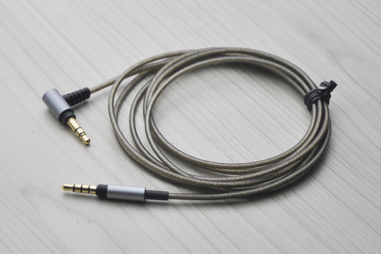 6ft Replacement upgrade Audio Cable For <font><b>SONY</b></font> <font><b>MDR</b></font>-XB950N1 <font><b>MDR</b></font>-<font><b>1000X</b></font> <font><b>MDR</b></font>-100AAP 100ABN XB950BT <font><b>MDR</b></font>-1A 1ADAC 1ABP 1ABT <font><b>headphones</b></font> image