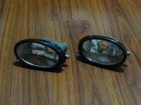 2ชิ้น/คู่โดยไม่ต้องหลอดไฟrhและlhด้านหน้าไฟตัดหมอกขับรถกันชนโคมไฟสำหรับhonda civic 2001-2003
