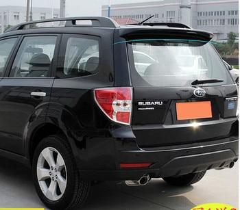 Alerón trasero de coche para alerón Forester, alerón trasero de Material ABS con imprimación de color, alerón trasero para Subaru alerón Forester 2008-2012